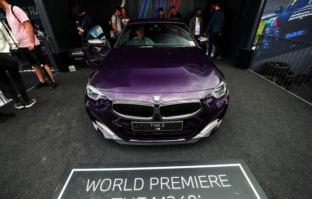 Noul BMW Seria 2 Coupe, prezentat public în cadrul Festivalului Vitezei de la Goodwood - Poza 4