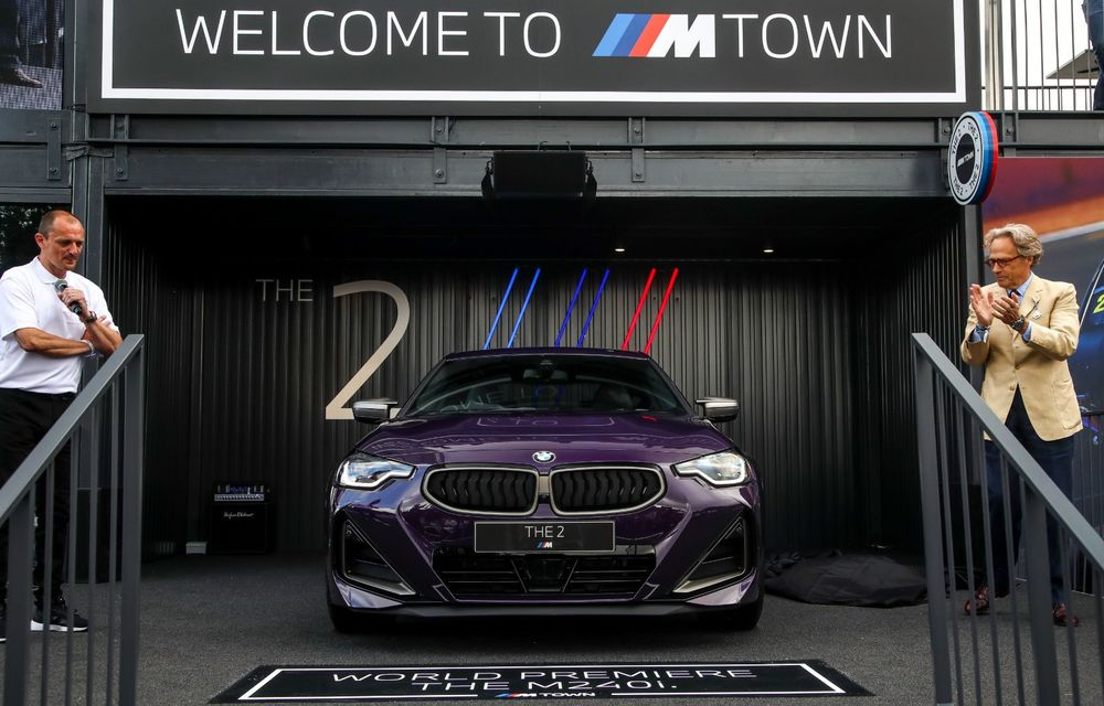 Noul BMW Seria 2 Coupe, prezentat public în cadrul Festivalului Vitezei de la Goodwood - Poza 2