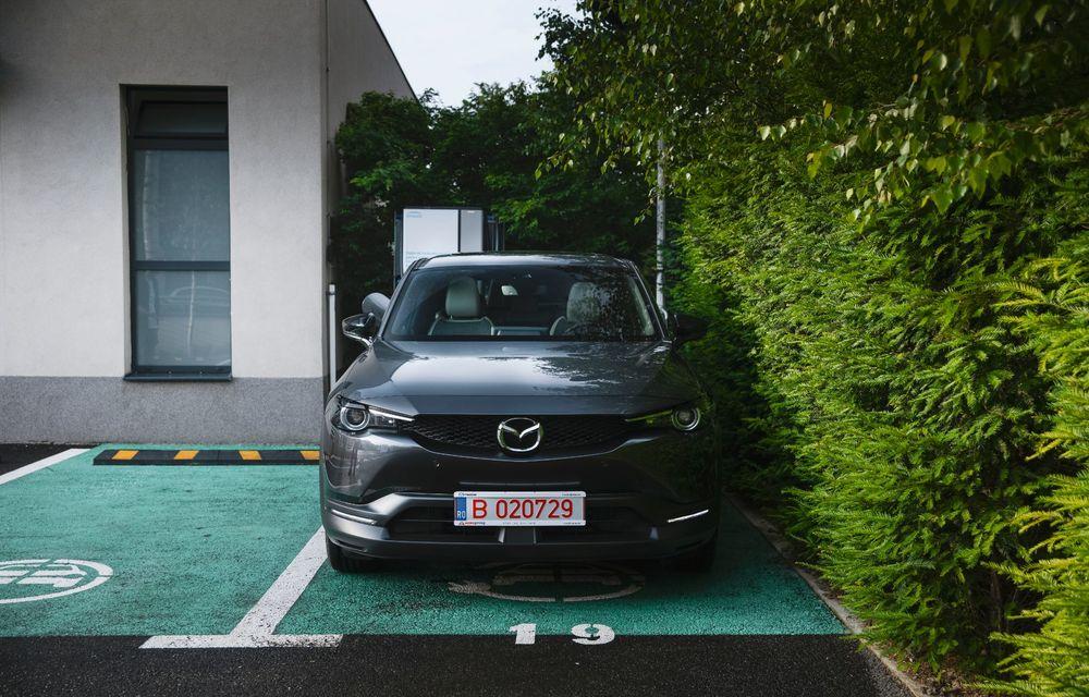Un prânz gourmet, alimentat cu energie ENGIE: am testat autonomia lui Mazda MX-30 până la Valea Doftanei - Poza 4