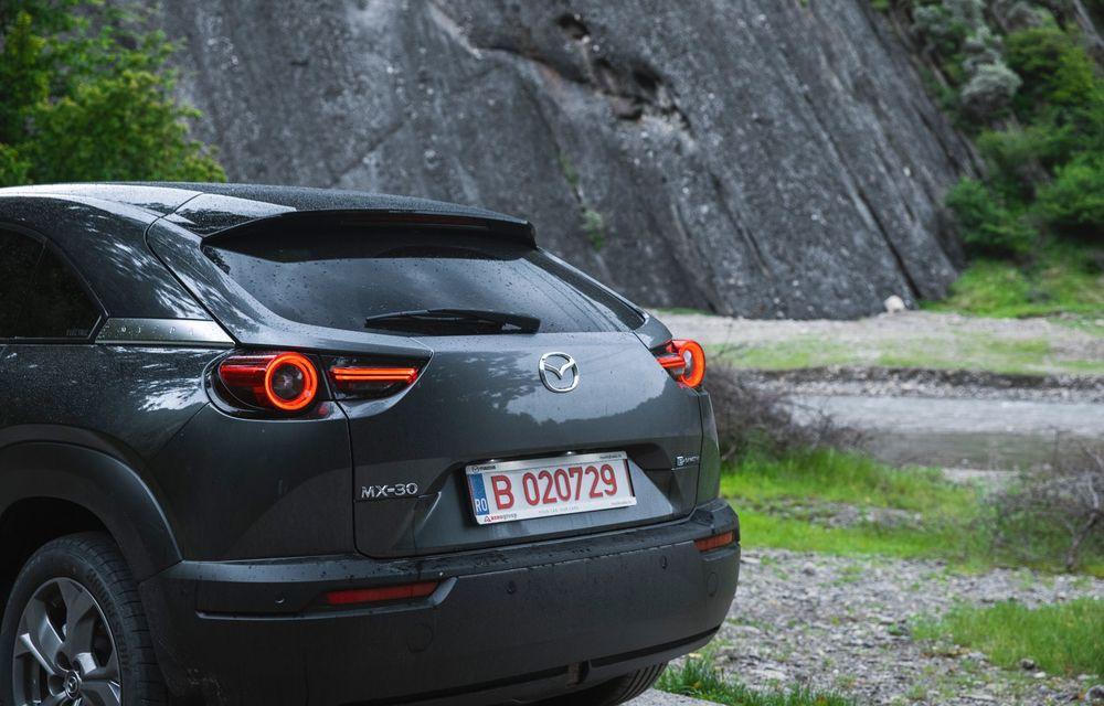 Un prânz gourmet, alimentat cu energie ENGIE: am testat autonomia lui Mazda MX-30 până la Valea Doftanei - Poza 46