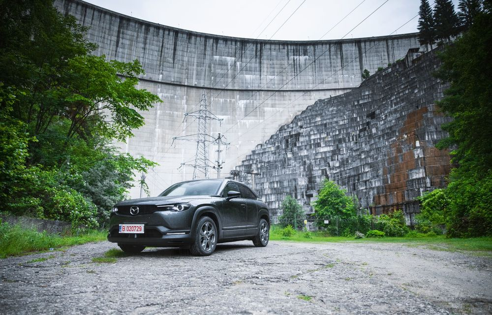 Un prânz gourmet, alimentat cu energie ENGIE: am testat autonomia lui Mazda MX-30 până la Valea Doftanei - Poza 50