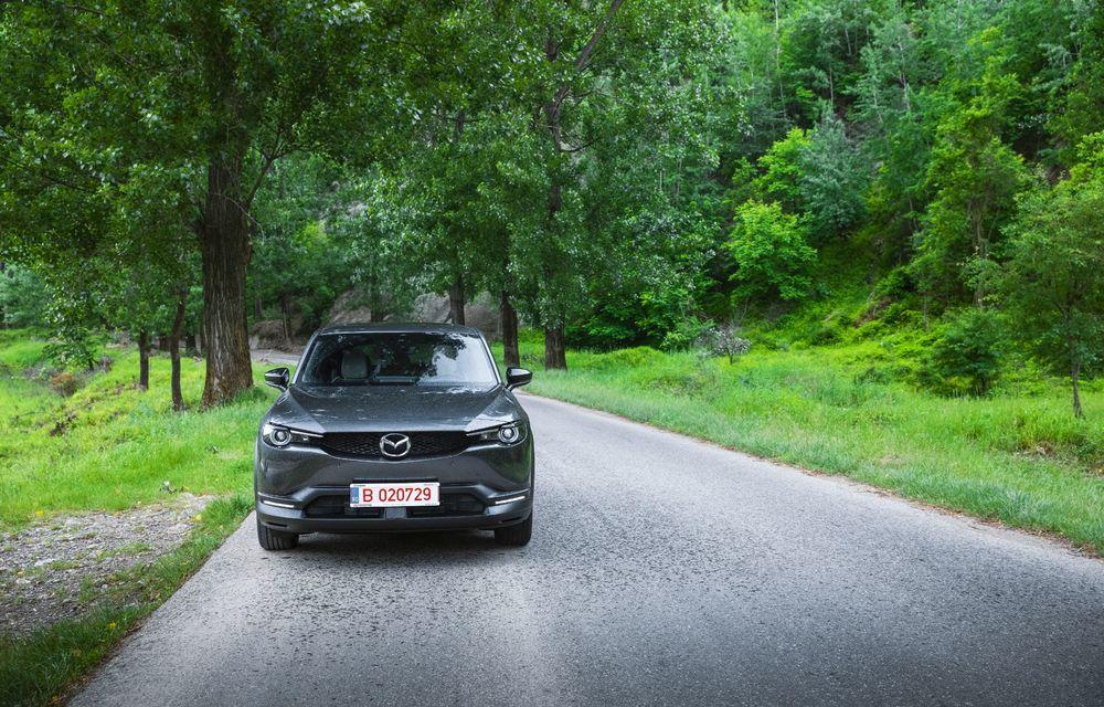 Un prânz gourmet, alimentat cu energie ENGIE: am testat autonomia lui Mazda MX-30 până la Valea Doftanei - Poza 51