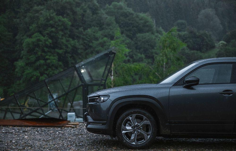 Un prânz gourmet, alimentat cu energie ENGIE: am testat autonomia lui Mazda MX-30 până la Valea Doftanei - Poza 62