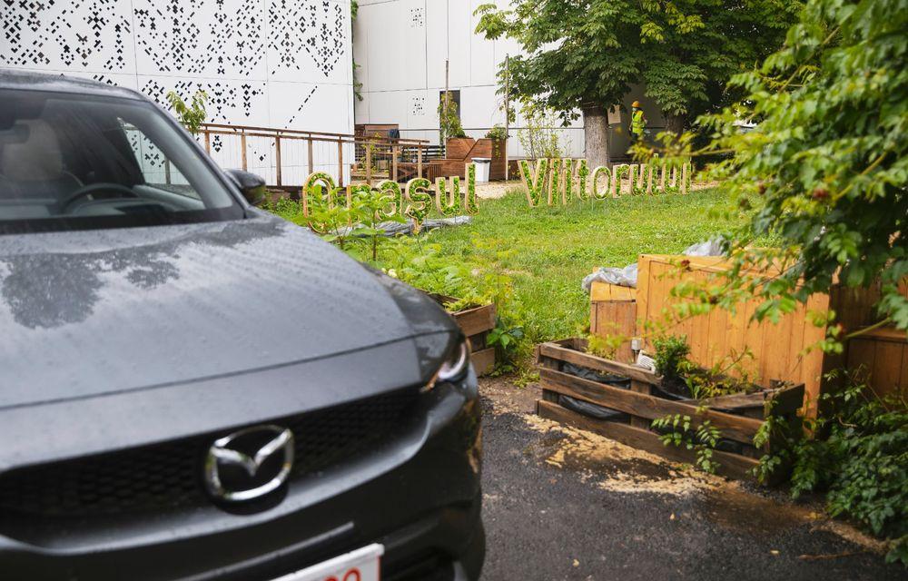 Un prânz gourmet, alimentat cu energie ENGIE: am testat autonomia lui Mazda MX-30 până la Valea Doftanei - Poza 40