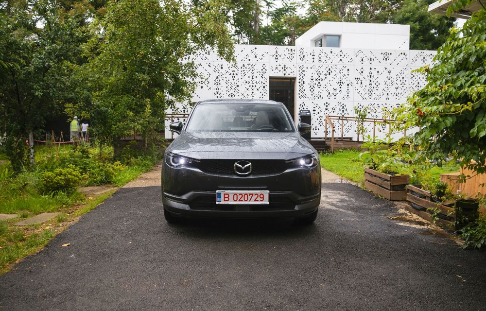 Un prânz gourmet, alimentat cu energie ENGIE: am testat autonomia lui Mazda MX-30 până la Valea Doftanei - Poza 41