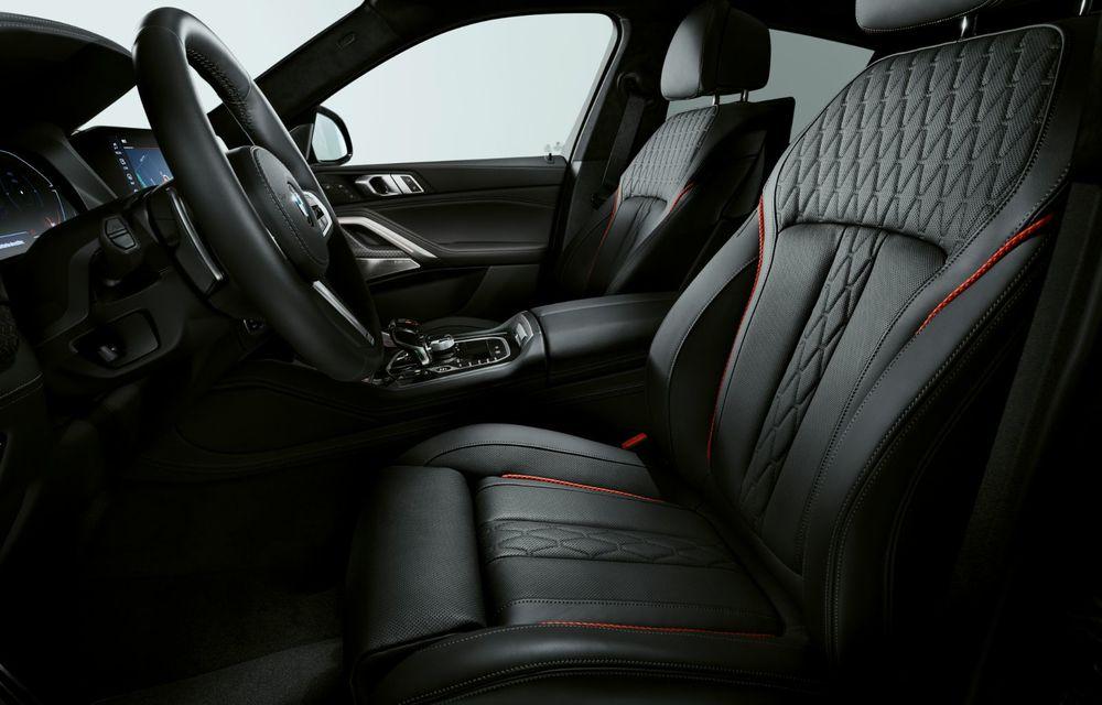 Ediții speciale pentru BMW X5, X6 și X7: vopsea exterioară neagră și accente roșii pentru grila frontală - Poza 19