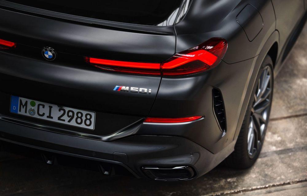 Ediții speciale pentru BMW X5, X6 și X7: vopsea exterioară neagră și accente roșii pentru grila frontală - Poza 33