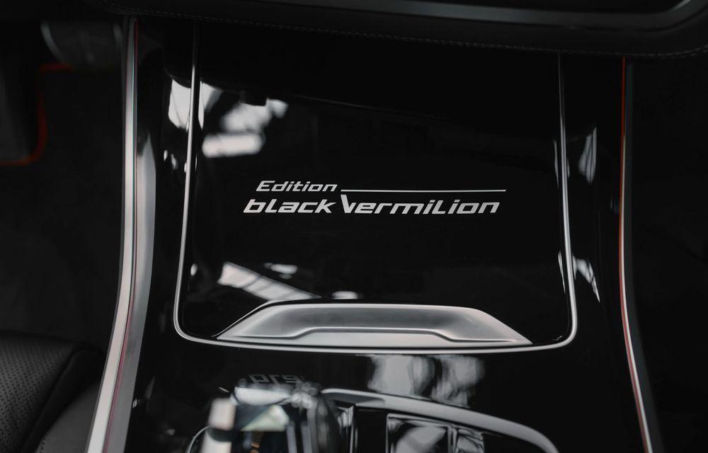 Ediții speciale pentru BMW X5, X6 și X7: vopsea exterioară neagră și accente roșii pentru grila frontală - Poza 23