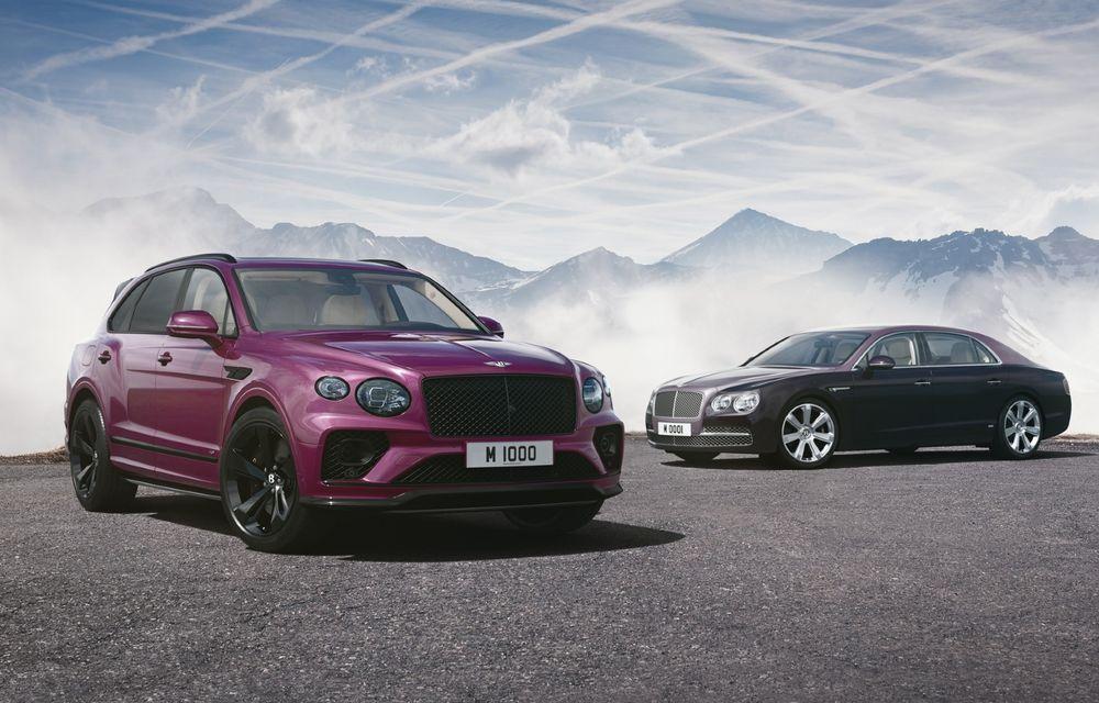 Bentley aniversează 1.000 de mașini modificate de Mulliner cu un Bentayga special - Poza 1