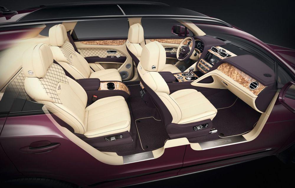 Bentley aniversează 1.000 de mașini modificate de Mulliner cu un Bentayga special - Poza 2