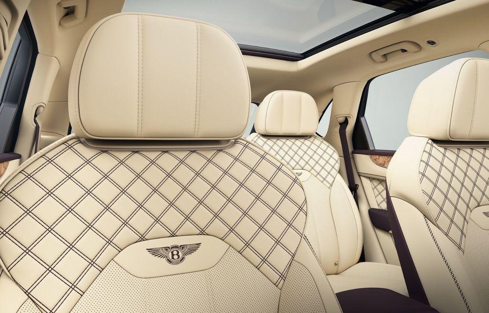 Bentley aniversează 1.000 de mașini modificate de Mulliner cu un Bentayga special - Poza 3