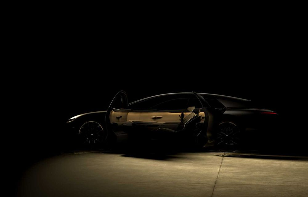 Primele imagini cu conceptul Audi Grand Sphere. Anunță un succesor electric pentru A7/A8 - Poza 1