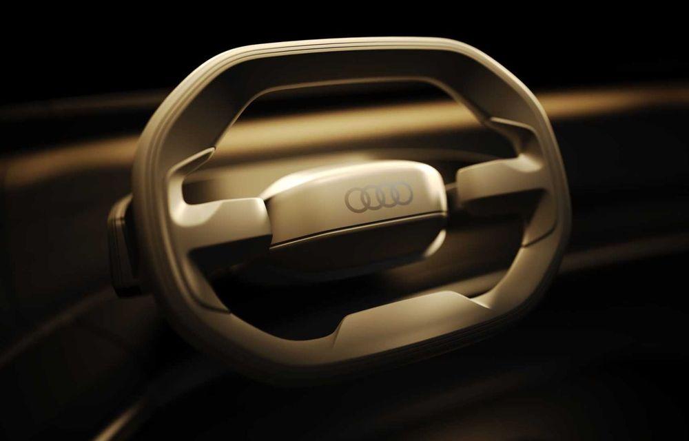Primele imagini cu conceptul Audi Grand Sphere. Anunță un succesor electric pentru A7/A8 - Poza 4