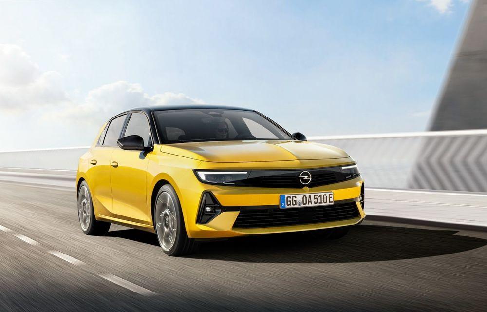 PREMIERĂ: Noua generație Opel Astra debutează cu versiuni electrificate cu până la 225 CP - Poza 2