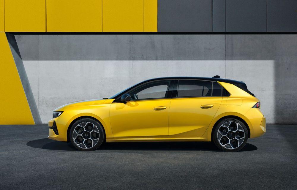 PREMIERĂ: Noua generație Opel Astra debutează cu versiuni electrificate cu până la 225 CP - Poza 3