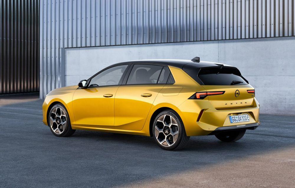 PREMIERĂ: Noua generație Opel Astra debutează cu versiuni electrificate cu până la 225 CP - Poza 4