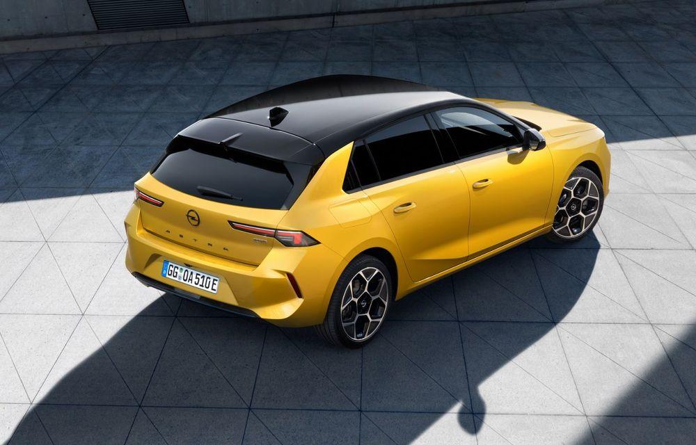 PREMIERĂ: Noua generație Opel Astra debutează cu versiuni electrificate cu până la 225 CP - Poza 5