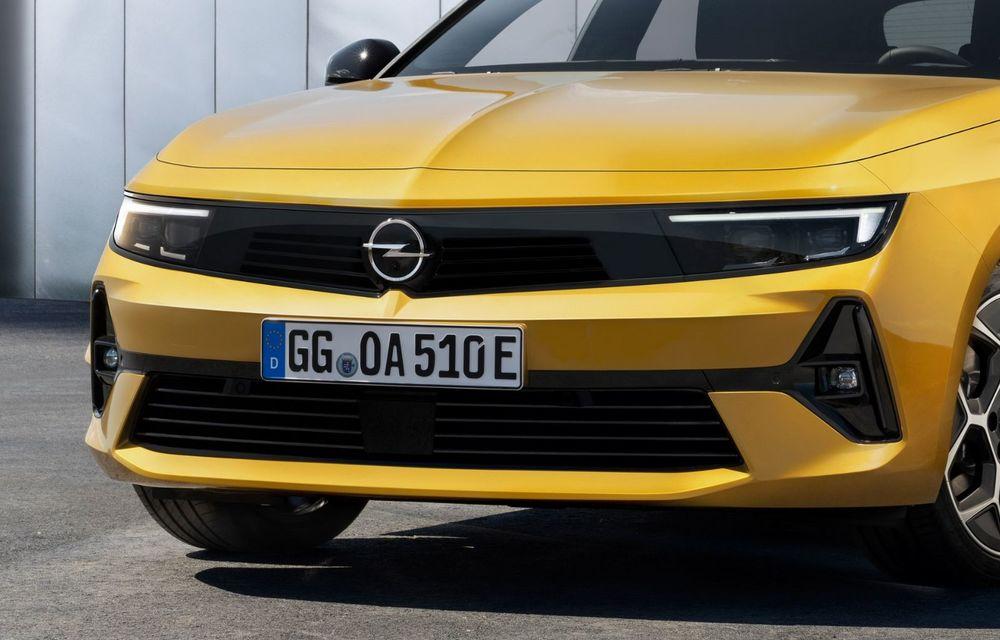 PREMIERĂ: Noua generație Opel Astra debutează cu versiuni electrificate cu până la 225 CP - Poza 11