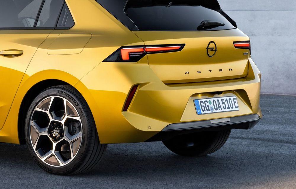 PREMIERĂ: Noua generație Opel Astra debutează cu versiuni electrificate cu până la 225 CP - Poza 12