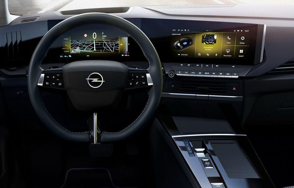 PREMIERĂ: Noua generație Opel Astra debutează cu versiuni electrificate cu până la 225 CP - Poza 7