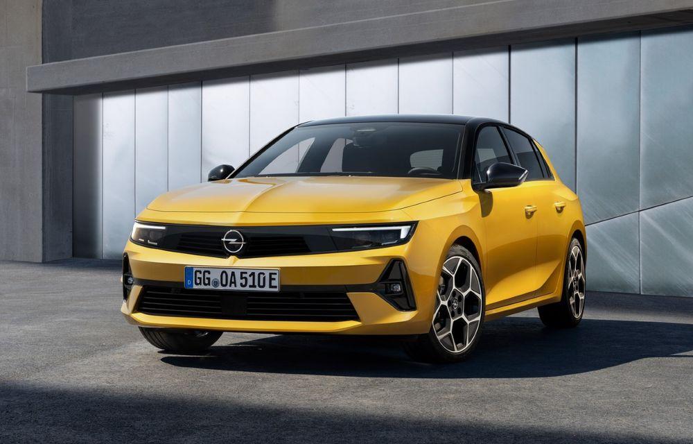 PREMIERĂ: Noua generație Opel Astra debutează cu versiuni electrificate cu până la 225 CP - Poza 1