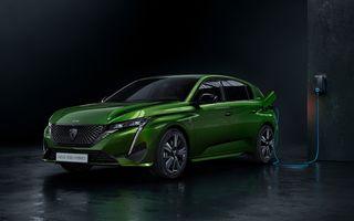 Gama Peugeot va fi electrificată în proporție de 70% anul acesta, urmând să ajungă la 100% în 2025