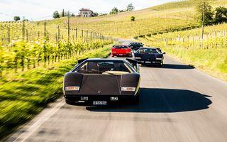 50 de ani de la debutul lui Lamborghini Countach, sărbătoriți cu 4 clipuri speciale