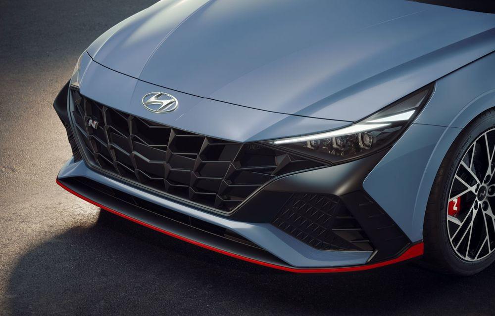 OFICIAL: Hyundai Elantra N debutează cu 280 de cai putere și transmisie manuală - Poza 13