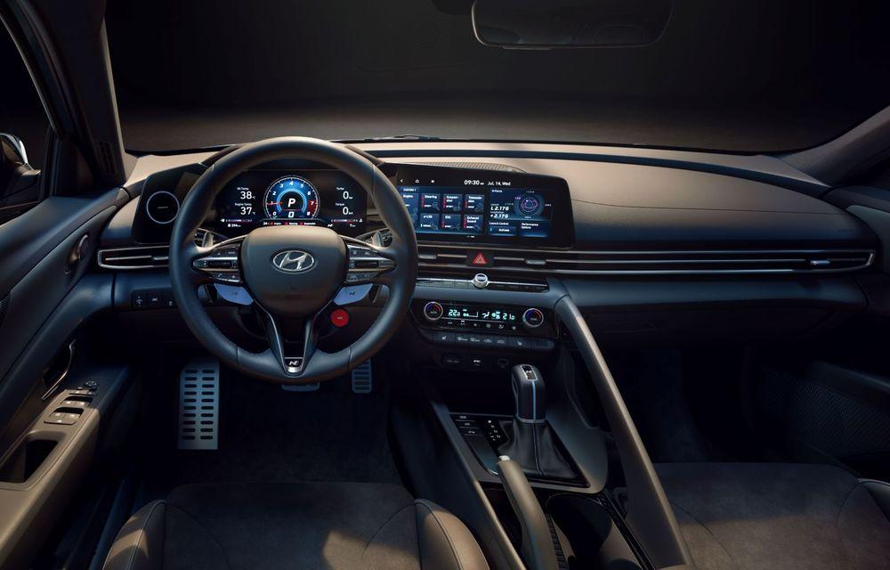 OFICIAL: Hyundai Elantra N debutează cu 280 de cai putere și transmisie manuală - Poza 9