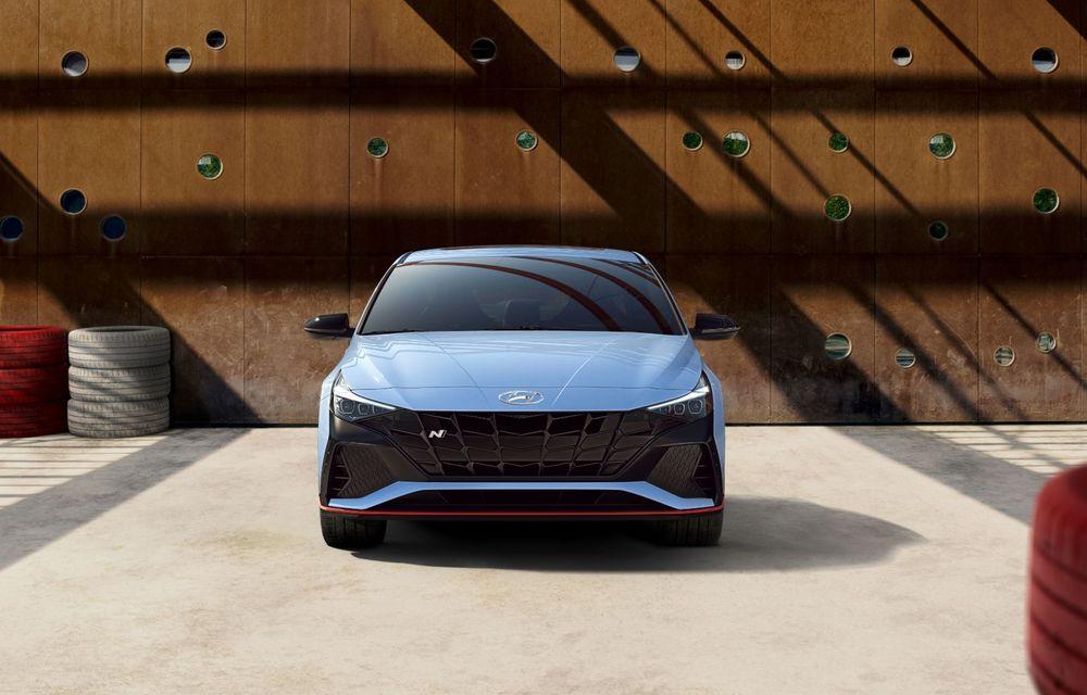 OFICIAL: Hyundai Elantra N debutează cu 280 de cai putere și transmisie manuală - Poza 8