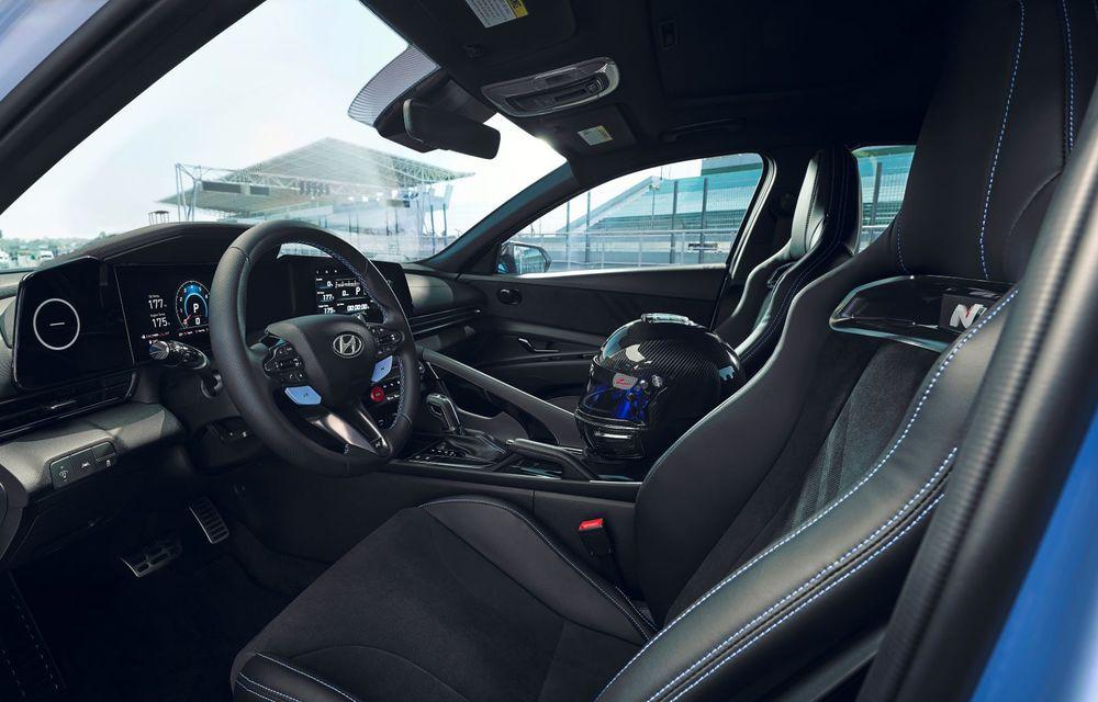 OFICIAL: Hyundai Elantra N debutează cu 280 de cai putere și transmisie manuală - Poza 11