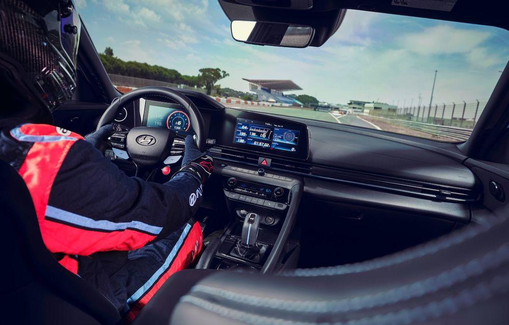 OFICIAL: Hyundai Elantra N debutează cu 280 de cai putere și transmisie manuală - Poza 10