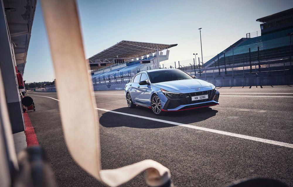 OFICIAL: Hyundai Elantra N debutează cu 280 de cai putere și transmisie manuală - Poza 5