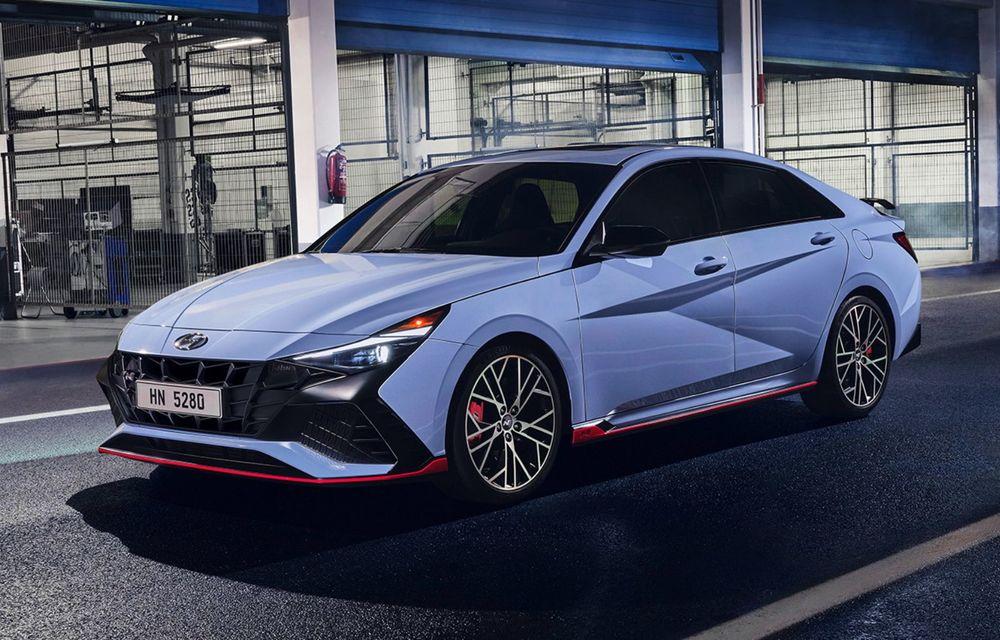 OFICIAL: Hyundai Elantra N debutează cu 280 de cai putere și transmisie manuală - Poza 1