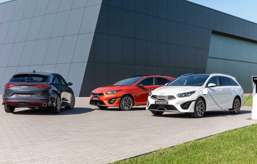 Kia Ceed facelift: grilă frontală revizuită, faruri restilizate și motor nou de 1.5 litri - Poza 19