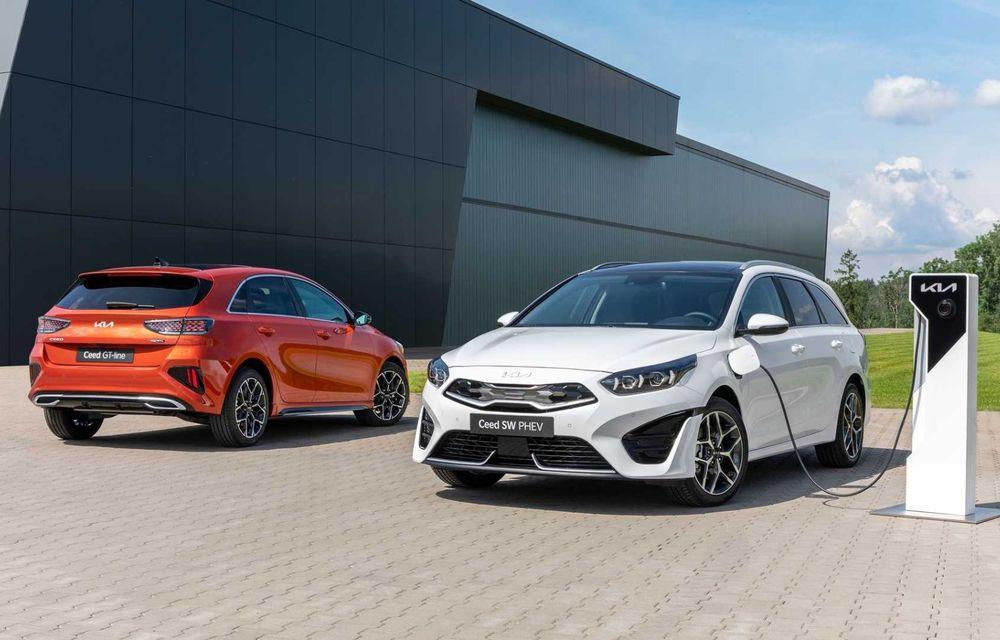 Kia Ceed facelift: grilă frontală revizuită, faruri restilizate și motor nou de 1.5 litri - Poza 21