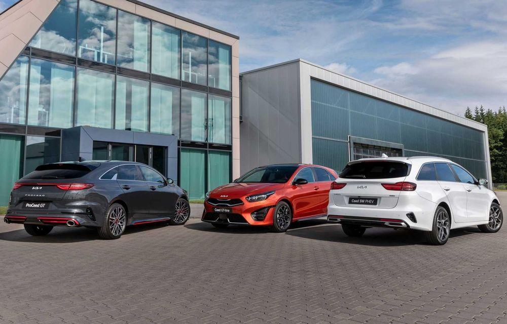 Kia Ceed facelift: grilă frontală revizuită, faruri restilizate și motor nou de 1.5 litri - Poza 22