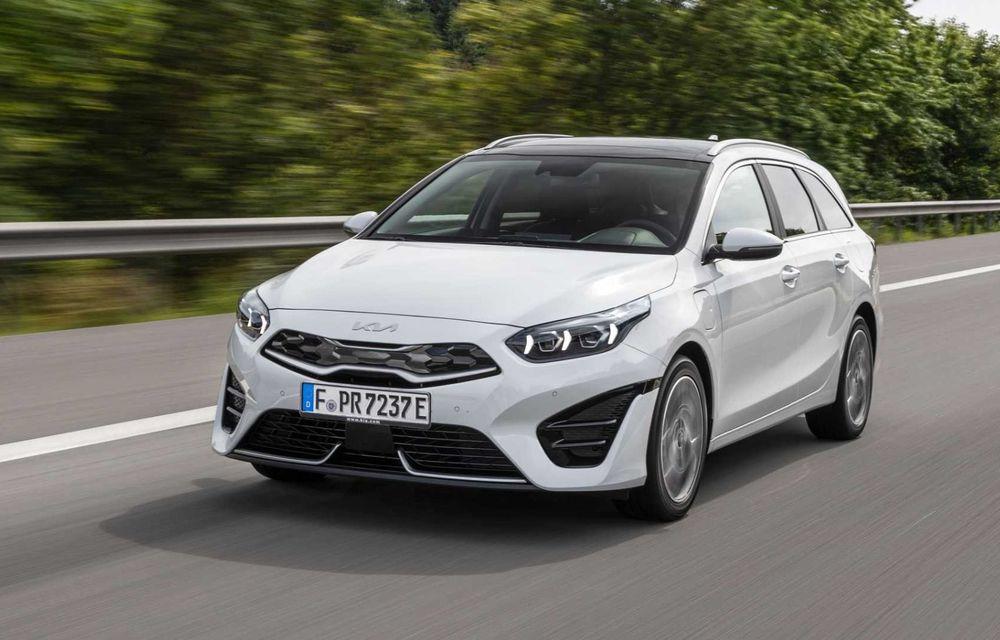 Kia Ceed facelift: grilă frontală revizuită, faruri restilizate și motor nou de 1.5 litri - Poza 5