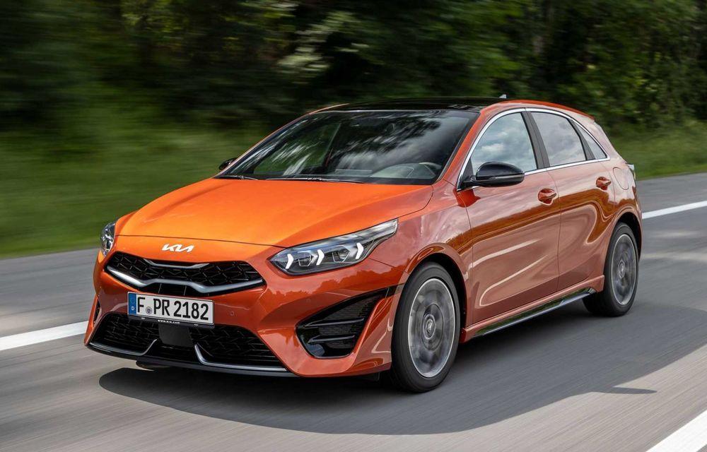 Kia Ceed facelift: grilă frontală revizuită, faruri restilizate și motor nou de 1.5 litri - Poza 2
