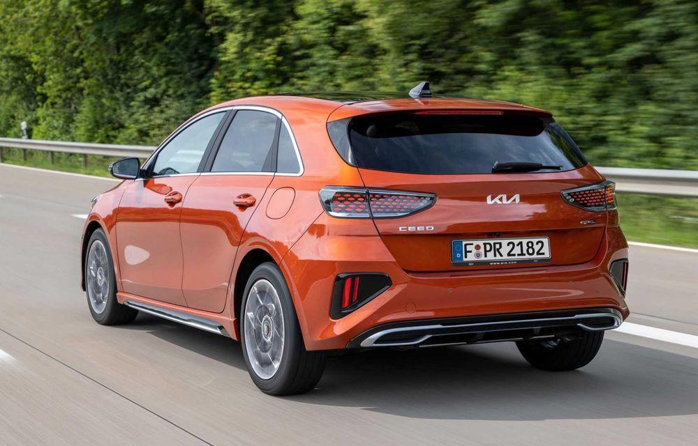 Kia Ceed facelift: grilă frontală revizuită, faruri restilizate și motor nou de 1.5 litri - Poza 3