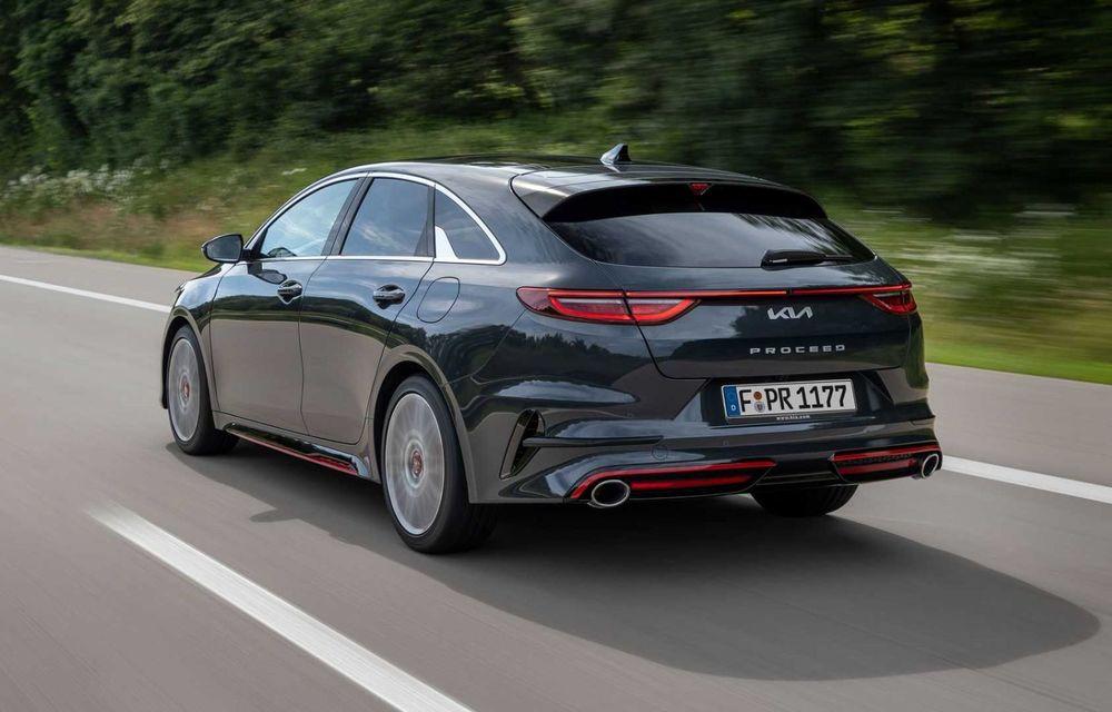 Kia Ceed facelift: grilă frontală revizuită, faruri restilizate și motor nou de 1.5 litri - Poza 10