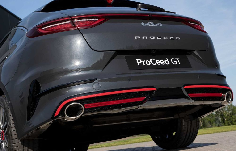 Kia Ceed facelift: grilă frontală revizuită, faruri restilizate și motor nou de 1.5 litri - Poza 28