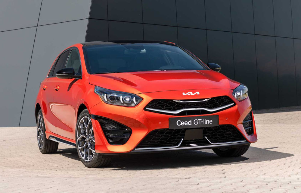 Kia Ceed facelift: grilă frontală revizuită, faruri restilizate și motor nou de 1.5 litri - Poza 1