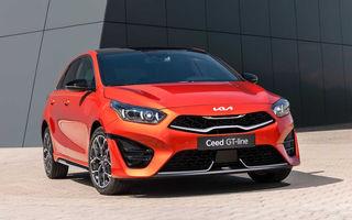 Kia Ceed facelift: grilă frontală revizuită, faruri restilizate și motor nou de 1.5 litri