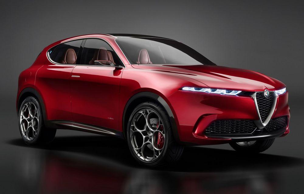 Alfa Romeo Tonale debutează în 2022 cu sistem de propulsie plug-in hybrid - Poza 1