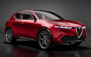 Alfa Romeo Tonale debutează în 2022 cu sistem de propulsie plug-in hybrid