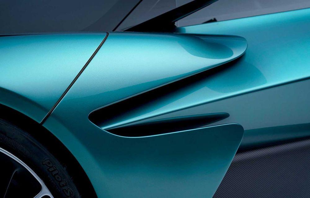 Versiunea de producție Aston Martin Valhalla: motor V8, două unități electrice și 950 CP - Poza 11