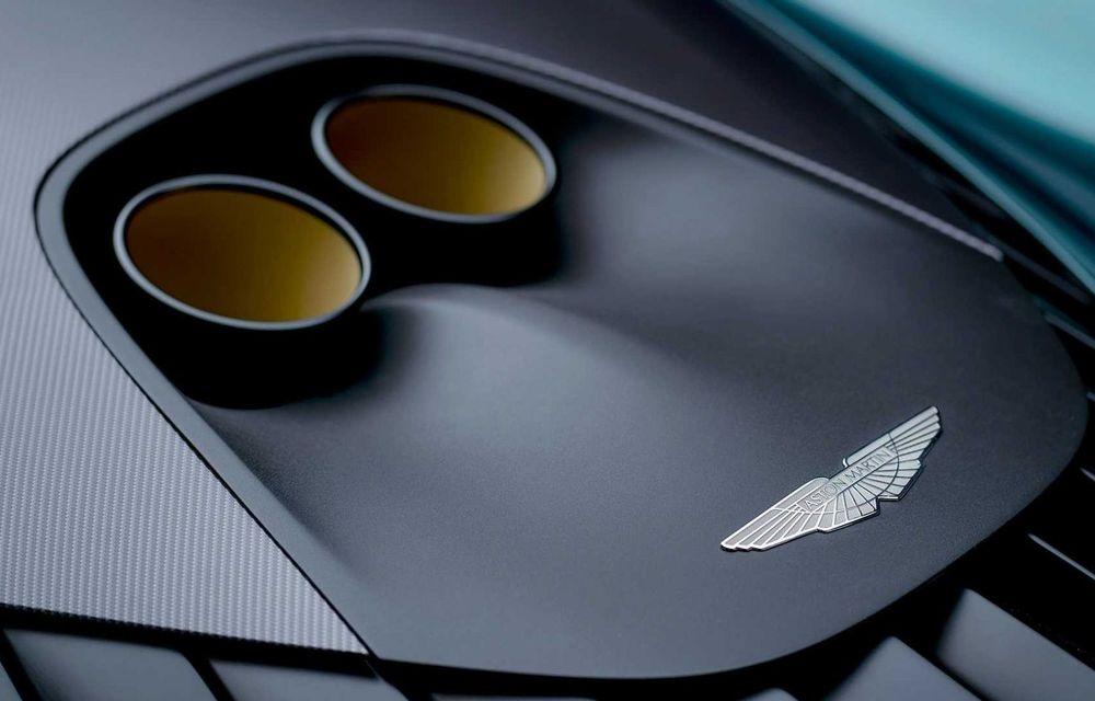 Versiunea de producție Aston Martin Valhalla: motor V8, două unități electrice și 950 CP - Poza 15