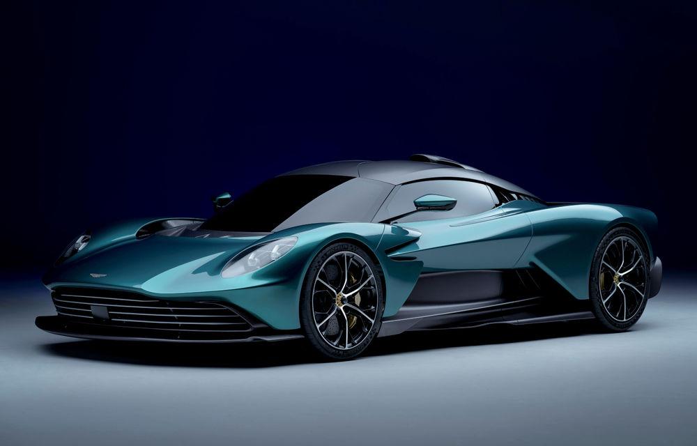 Versiunea de producție Aston Martin Valhalla: motor V8, două unități electrice și 950 CP - Poza 1