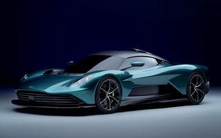 Versiunea de producție Aston Martin Valhalla: motor V8, două unități electrice și 950 CP